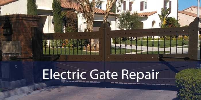 Electric Gate Repair